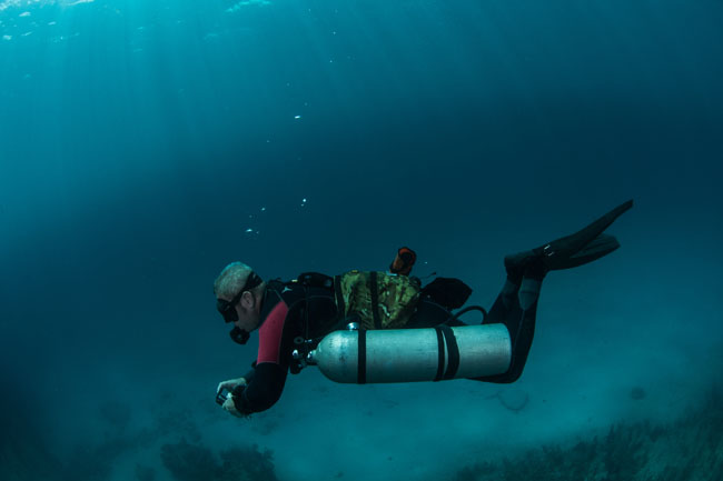 Sidemount Ocean Diving