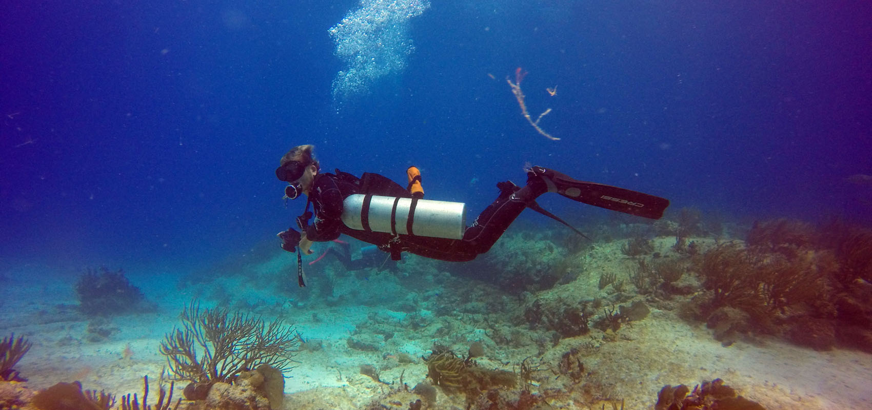 Sidemount Diving Mexico