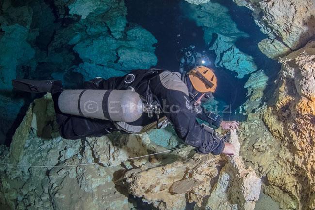 IANTD Tech Cave SM Diver
