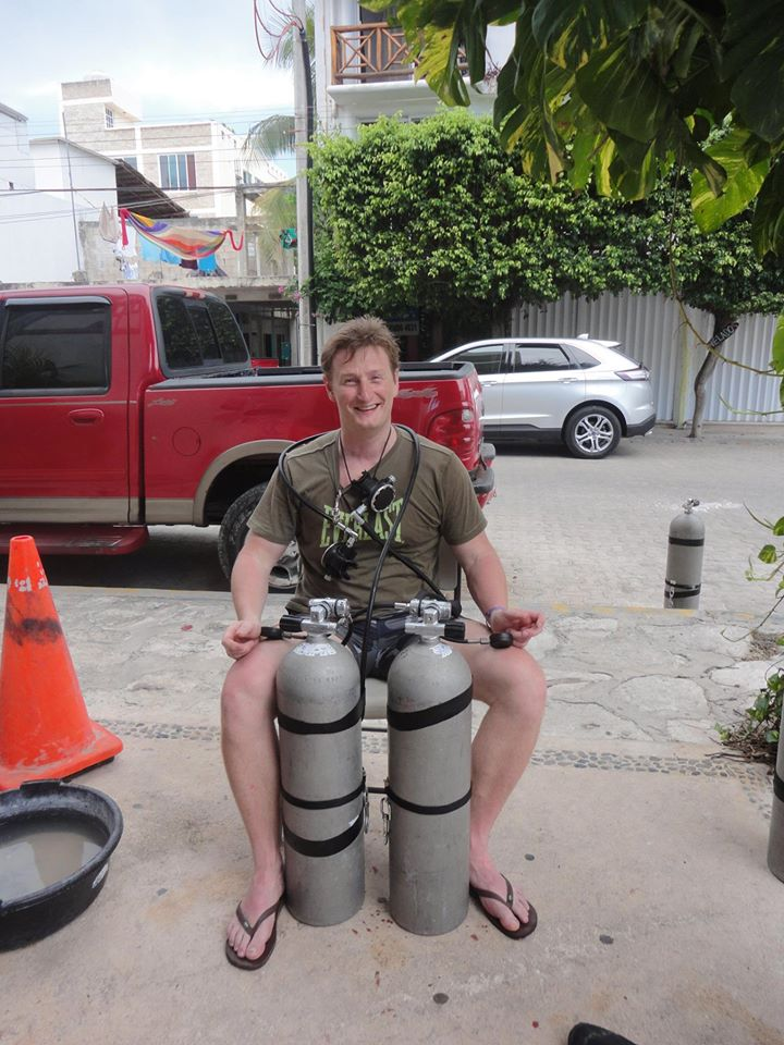 What to expect from a sidemount course
